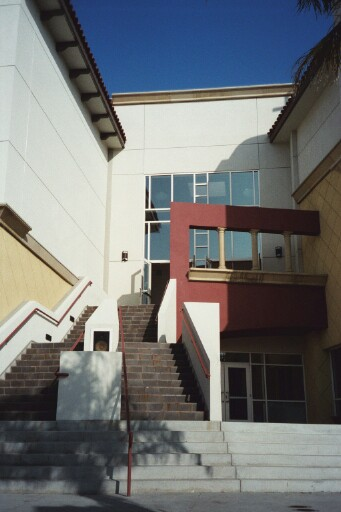 serra center stairs